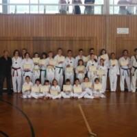 23 Taekwondoin meistern Prüfung